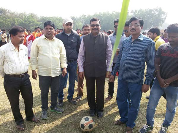 FOOTBALL MATCH AT COLLEGE GROUND-2016